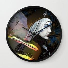 Saint Dymphna Reborn Wall Clock