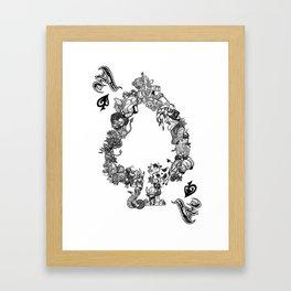 One, One Framed Art Print