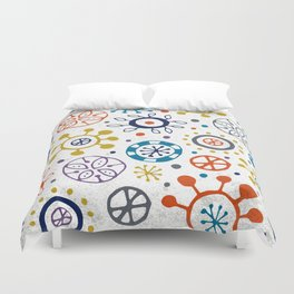 Doodle Organic Duvet Cover
