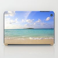 beach iPad Cases featuring Beach by 2sweet4words Designs