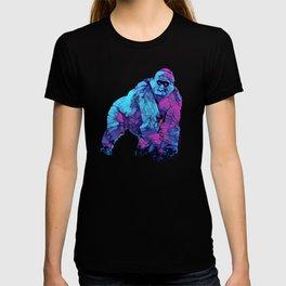 Colorful Lowland Gorilla T-shirt