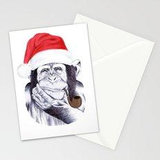 Christmas Chimp Stationery Cards