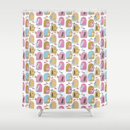 Pattern Project #35 / Let's Talk Shower Curtain