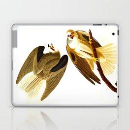 Black Winged Hawk Illustration Laptop & iPad Skin