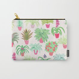 Tropical Houseplants Carry-All Pouch