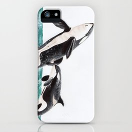 Keiko and Morgan iPhone Case