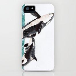 Keiko and Morgan iPhone Case