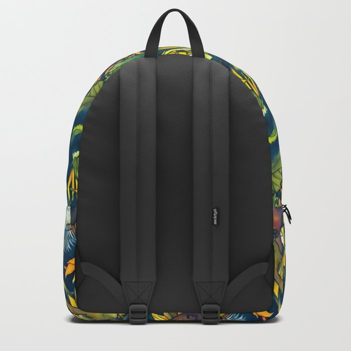 Sunflowers and birds Backpack