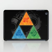 triforce iPad Cases featuring Zelda Triforce by Bradley Bailey