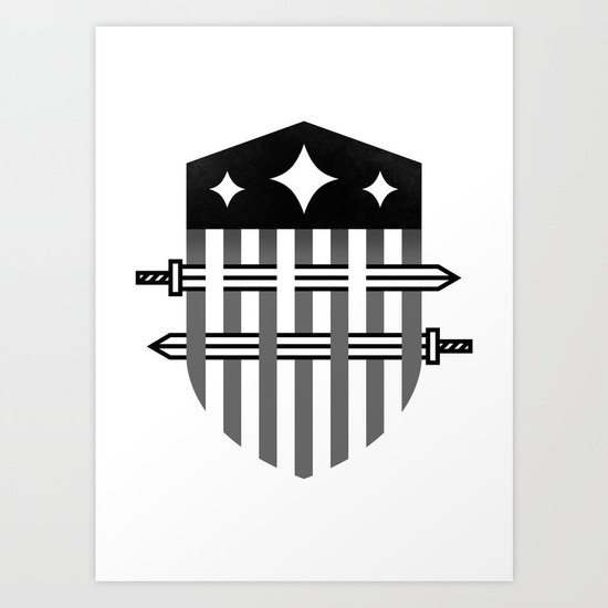 To Arms Art Print