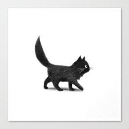 Creeping Cat Canvas Print