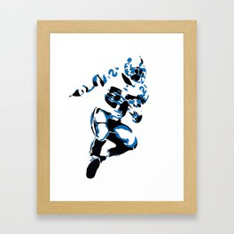 Emmitt Smith Running for A Touchdown Framed Art Print