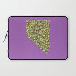 Nevada in Flowers Laptop Sleeve