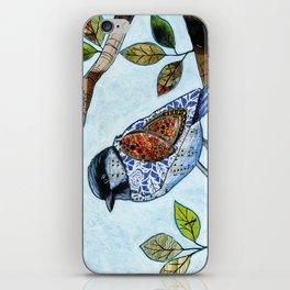 Songbird 2 ... Collage Bird Art iPhone Skin