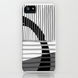 Grey Scale #2 iPhone Case