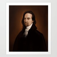 amy hamilton Art Prints featuring Hamilton by days & hours