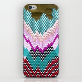 Isometric Harlequin #5 iPhone Skin