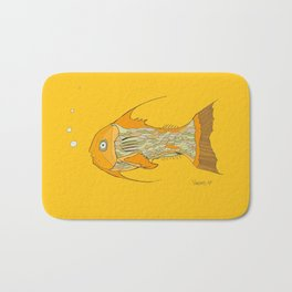 Francis the Fish Bath Mat