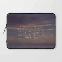 Perhaps we are the same person Laptop Sleeve