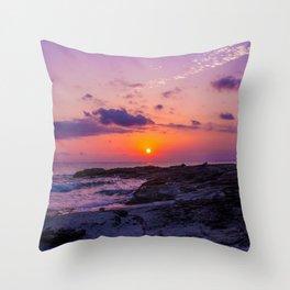 BALEARIC SUNSET · MALLORCA · SPAIN Throw Pillow