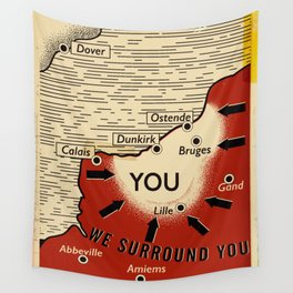 We Surround You Wall Tapestry