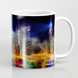 Starry Night New York City Coffee Mug