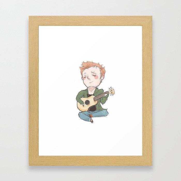 Tiny Dean (tfw series) Framed Art Print