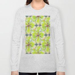 Flower Sketch 1 Long Sleeve T-shirt