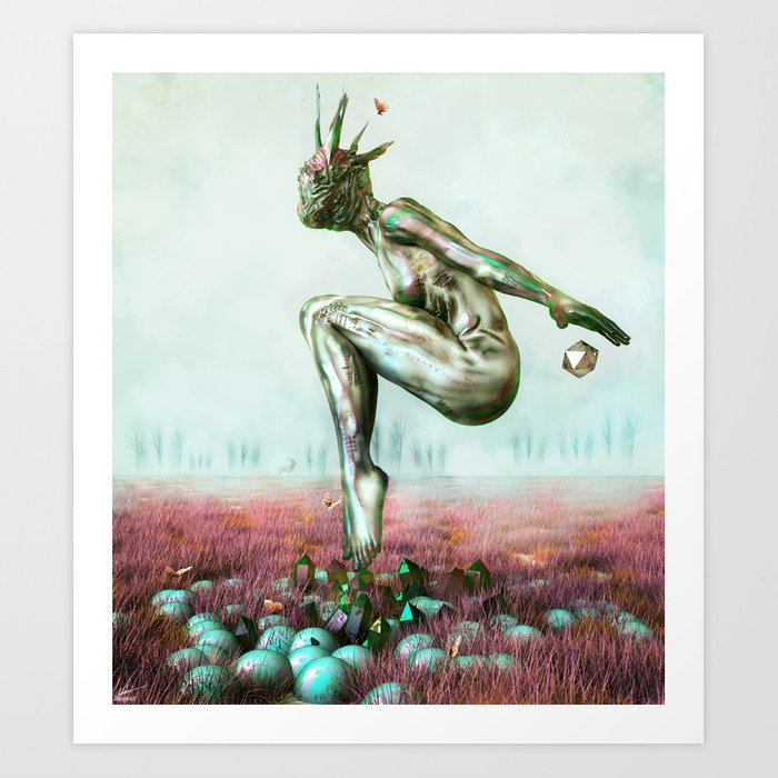 Kinnection Art Print