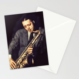 Lester Young, Music Legend Stationery Cards