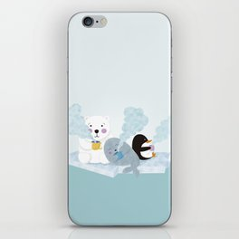 polar coffe iPhone Skin