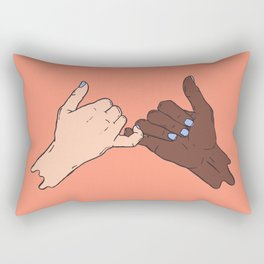 PINKY PROMISE Rectangular Pillow