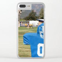 Football Dummy Clear iPhone Case