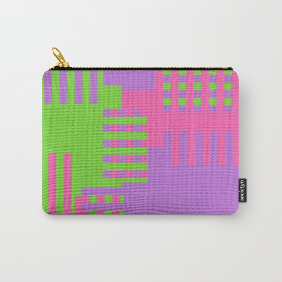 Colorful Abstract Q Carry-All Pouch