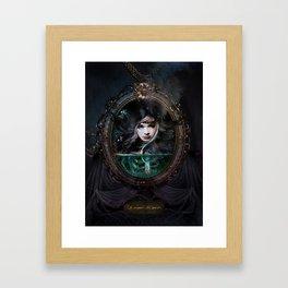 Le Camée des Morts Framed Art Print
