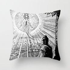Awakening Throw Pillow