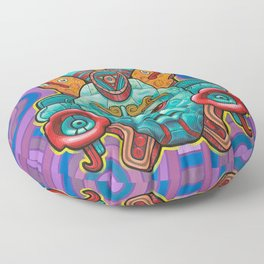 +K7 Xochicoatl Floor Pillow