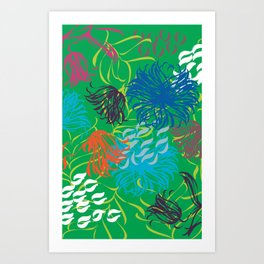 bold breezy Art Print