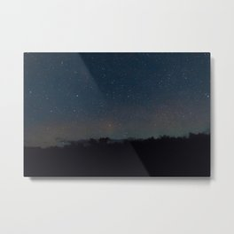 Night Grain Metal Print