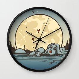 Moon Tears Wall Clock