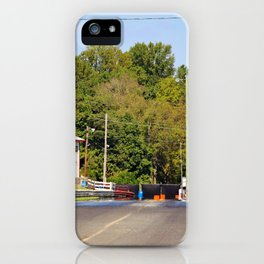 Eighth-Mile Track iPhone Case