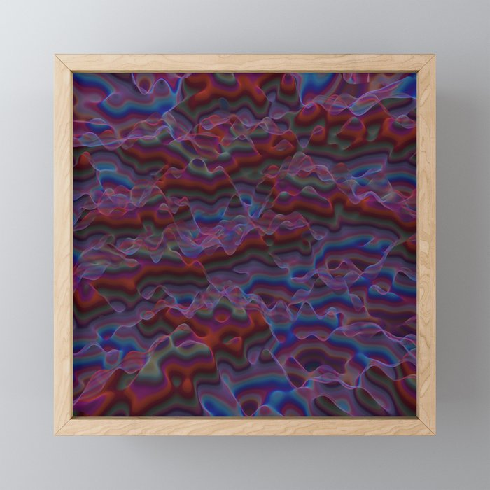 Desert Land Framed Mini Art Print
