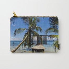 Relax on de beach photography Carry-All Pouch
