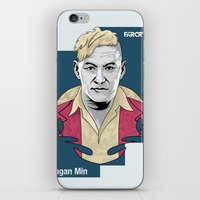 pagan iPhone & iPod Skins featuring Pagan Min by King Arnanda