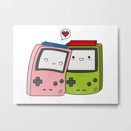 Game Boy love Metal Print