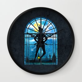 A Strange Visitor Wall Clock
