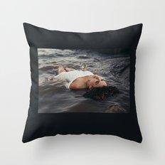 floating light Throw Pillow