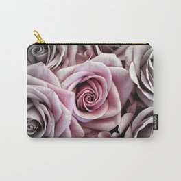 Pink Rose : Pop of Color Carry-All Pouch