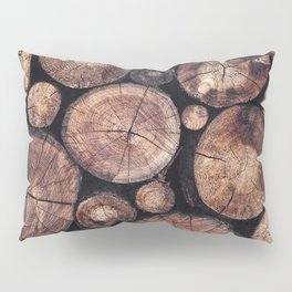 The Wood Holds Many Spirits Pillow Sham