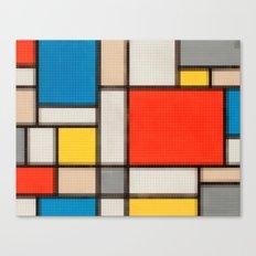 Lego: Piet Mondrian no.1 Canvas Print